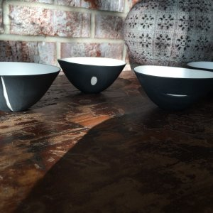 Four Moon Vessels Set