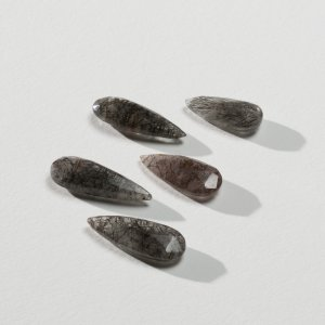 Tourmalinated Quartz (teardrop)